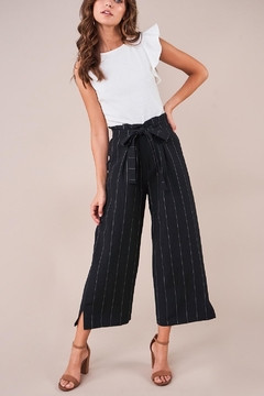 Sugarlips Striped Culotte Pants - Product List Image