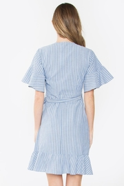 Sugarlips Striped Ruffle Dress - Other