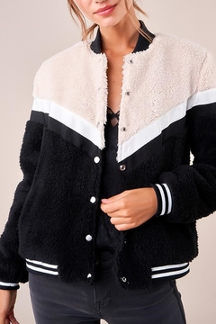 Sugarlips Teddy Bomber Jacket - Product List Image