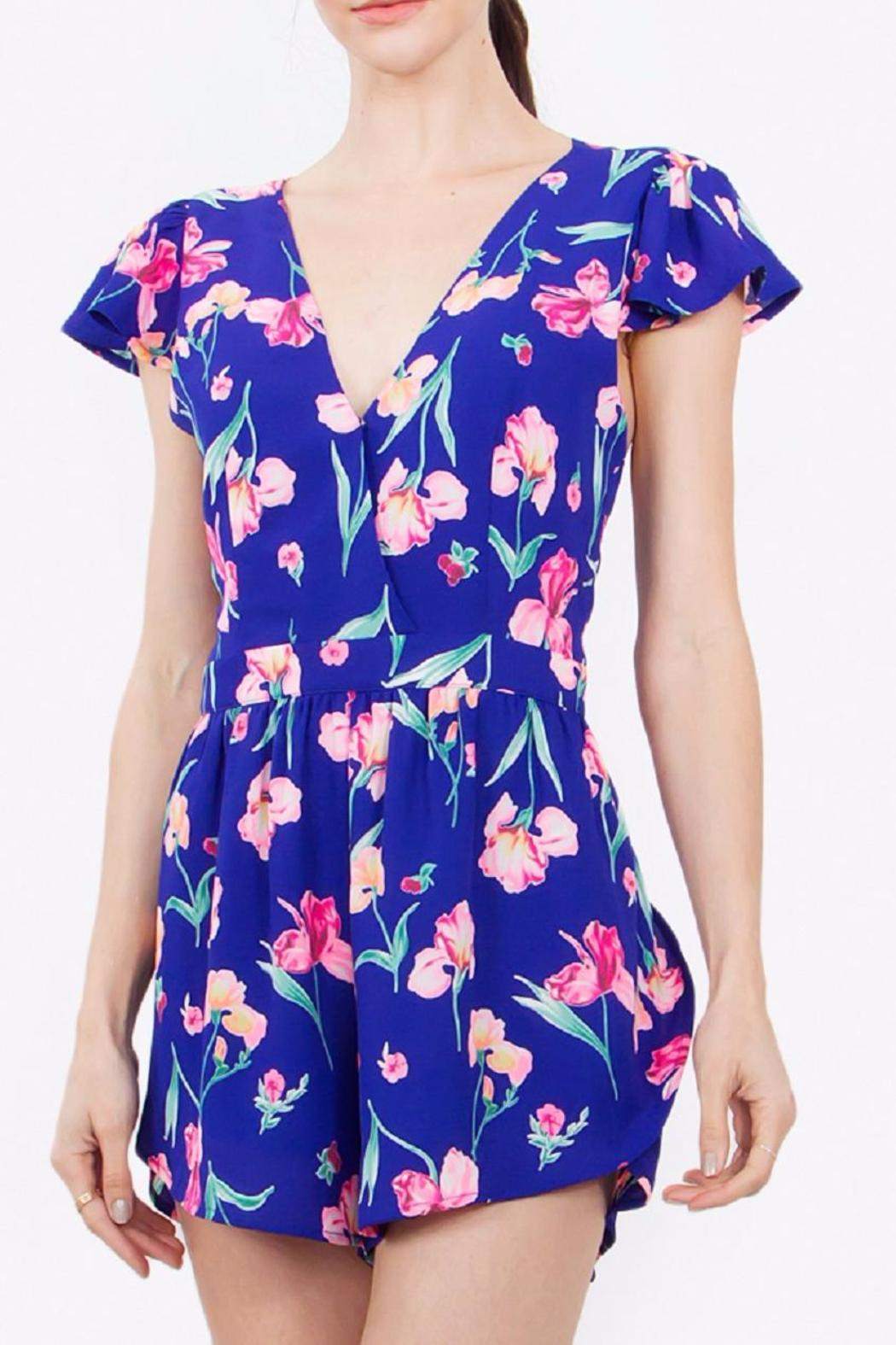 Sugarlips The Sheryl Romper - Front Full Image