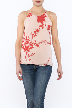 Sugarlips Watercolor Sleeveless Blouse - Product List Image