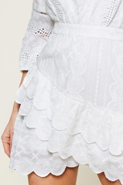Sugarlips White Embroidered Dress - Other
