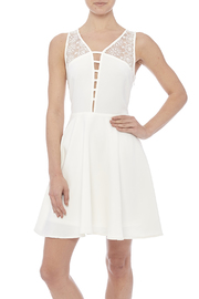 Sugarlips White Swan Dress - Front cropped