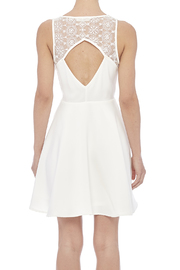 Sugarlips White Swan Dress - Back cropped