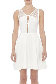 Sugarlips White Swan Dress - Side cropped