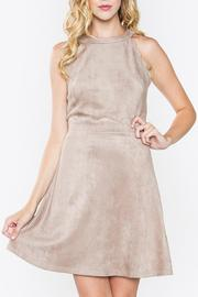 Sugarlips Zoie Suede Dress - Product Mini Image