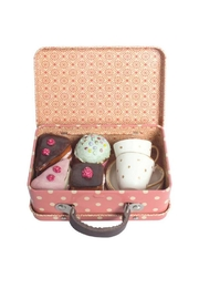 Maileg Suitcase Tea Set - Front cropped