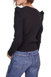 ASTR the Label Suki Surplice Puff Shoulder Sweater - Side cropped