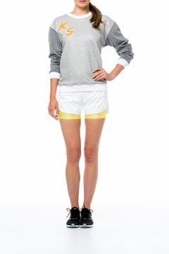 Shoptiques Product: White Jogger Shorts