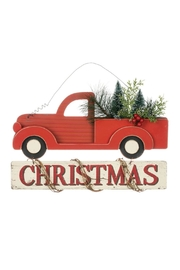 Sullivans Christmas Truck Sign - Front cropped