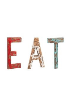 Shoptiques Product: Eat Wall Art