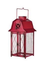 Sullivans Red Barn Lantern - Product Mini Image