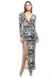 Capella Apparel Sultry Slit Dress - Product Mini Image