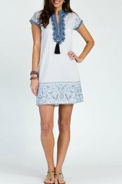 Shoptiques Product: Embroidered Roxanne Dress