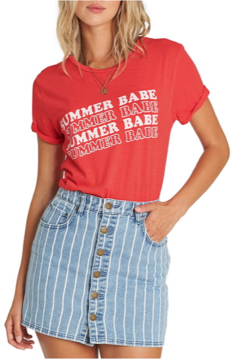 Billabong Summer Babe Graphic Tee - Alternate List Image