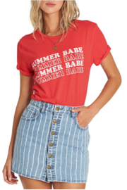 Billabong Summer Babe Graphic Tee - Front cropped