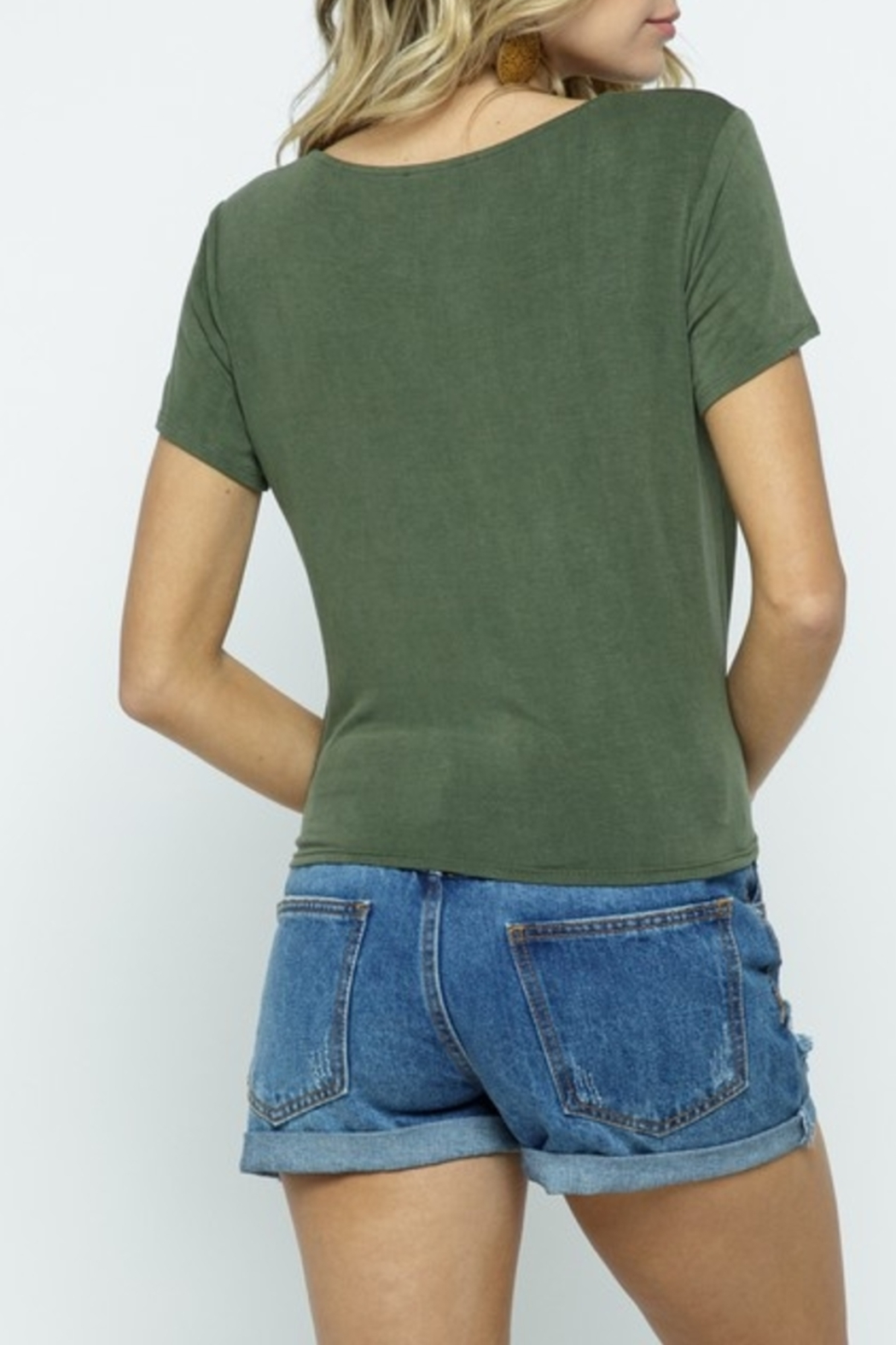 Cozy Co. Summer Basic top - Front Full Image