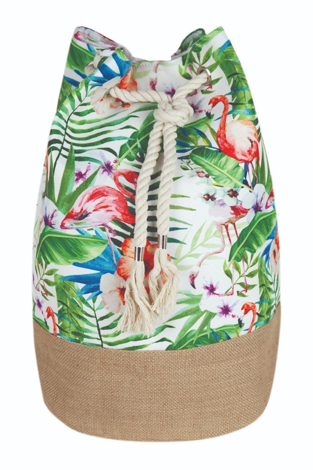 Riah Fashion Summer Beach Backpack - Front Cropped Image