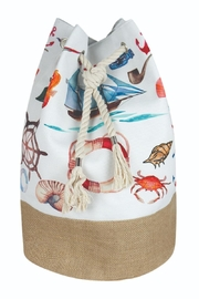 Riah Fashion Summer Beach Backpack - Front cropped