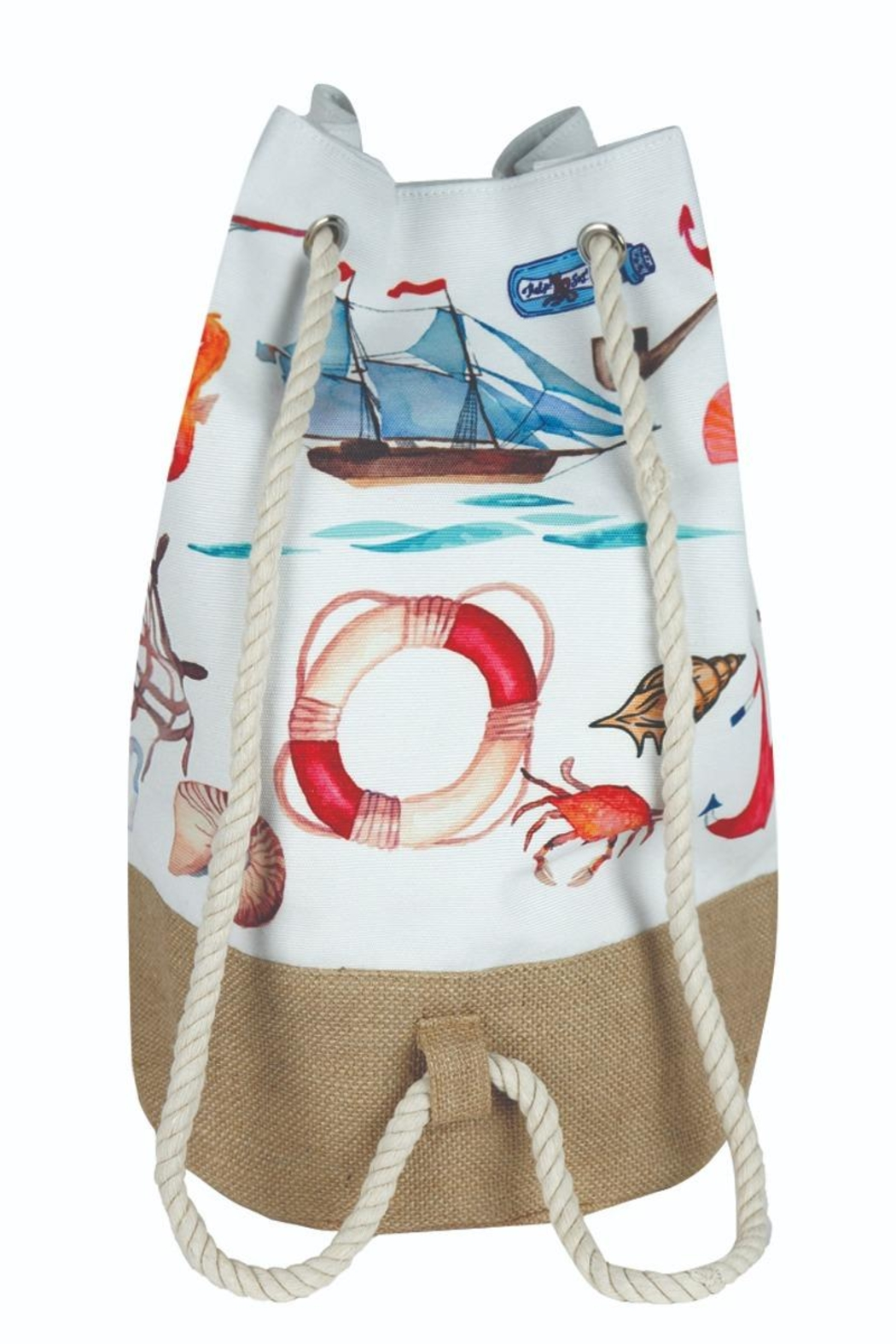Riah Fashion Summer Beach Backpack - Front Full Image