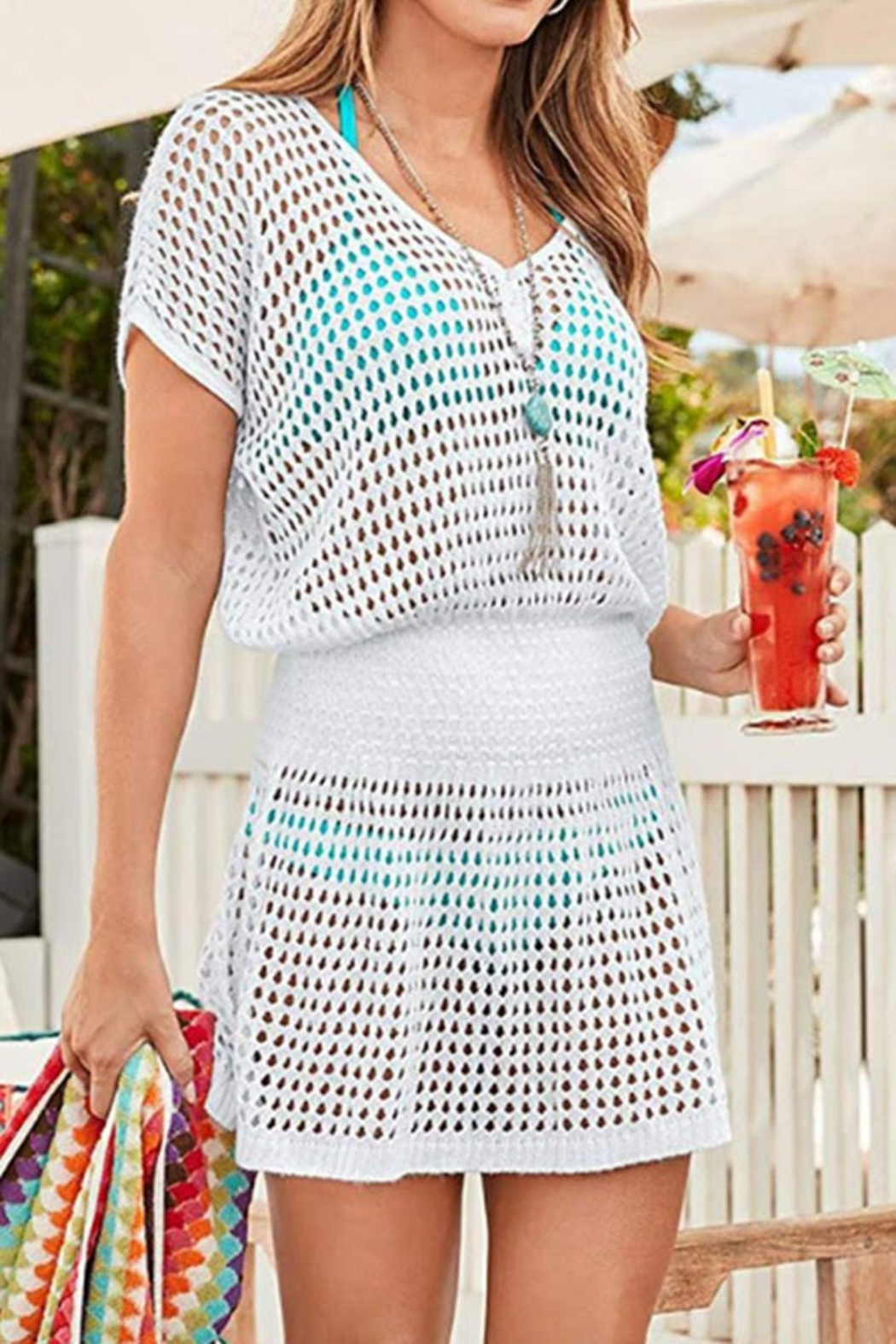 lily clothing Summer Beach Coverup - Front Cropped Image