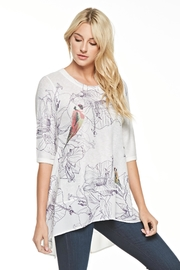 Inoah Summer Bloom Tunic - Front cropped