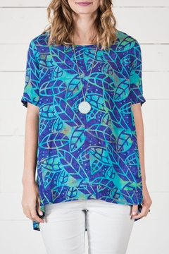 Go Fish Clothing Summer Blue Blouse - Product List Image