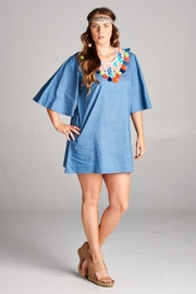Velzera Summer Blue Dress - Product Mini Image