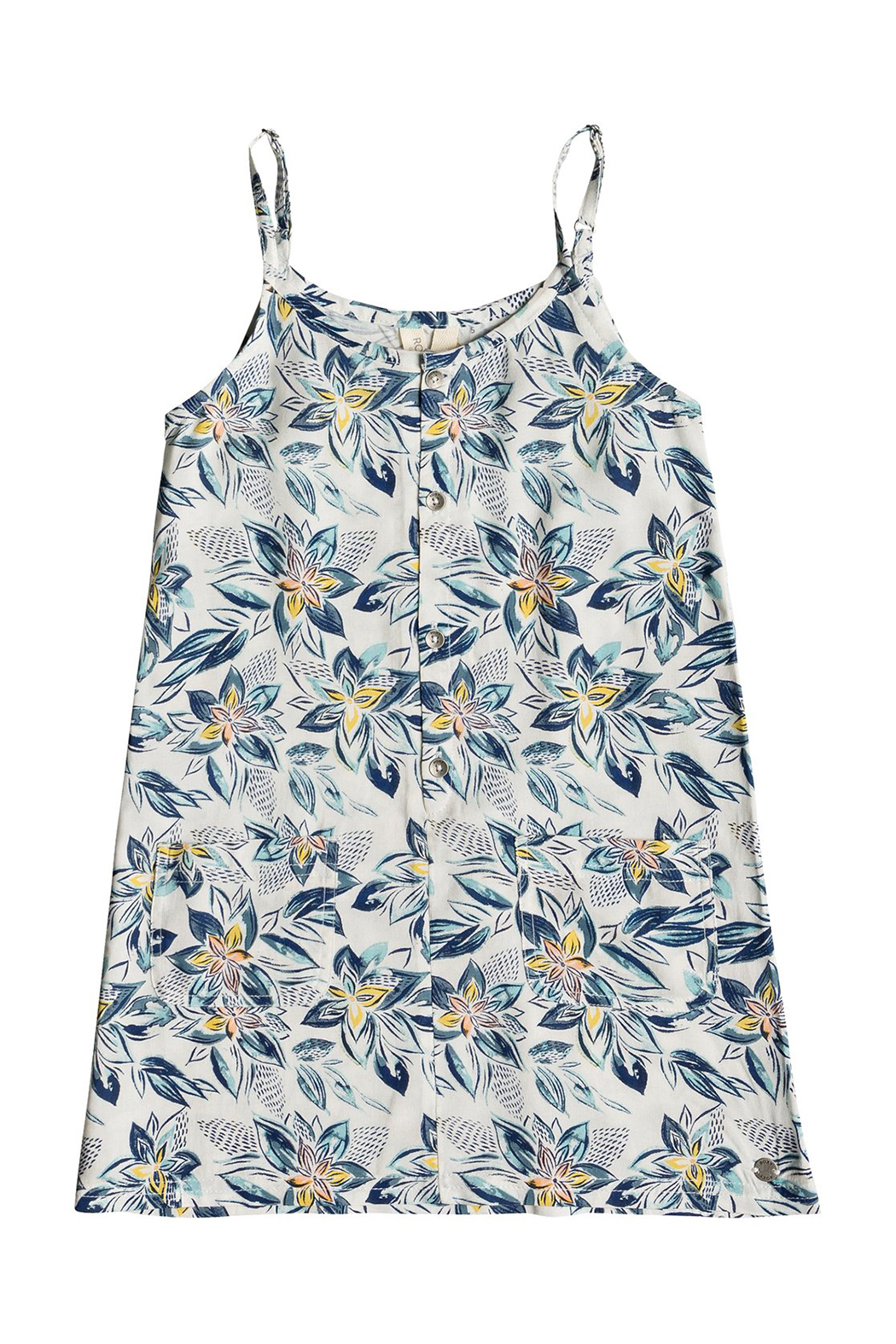 Roxy Summer Boo Strappy Dress - Front Cropped Image