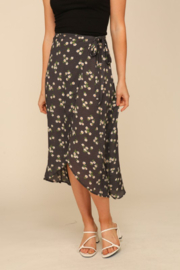Timing Summer Days Wrap Skirt - Product Mini Image