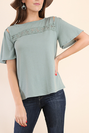 Umgee Summer Details top - Front cropped