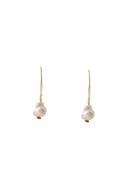 Summer Eliason Jewelry Baroque Pearl Earrings - Product Mini Image
