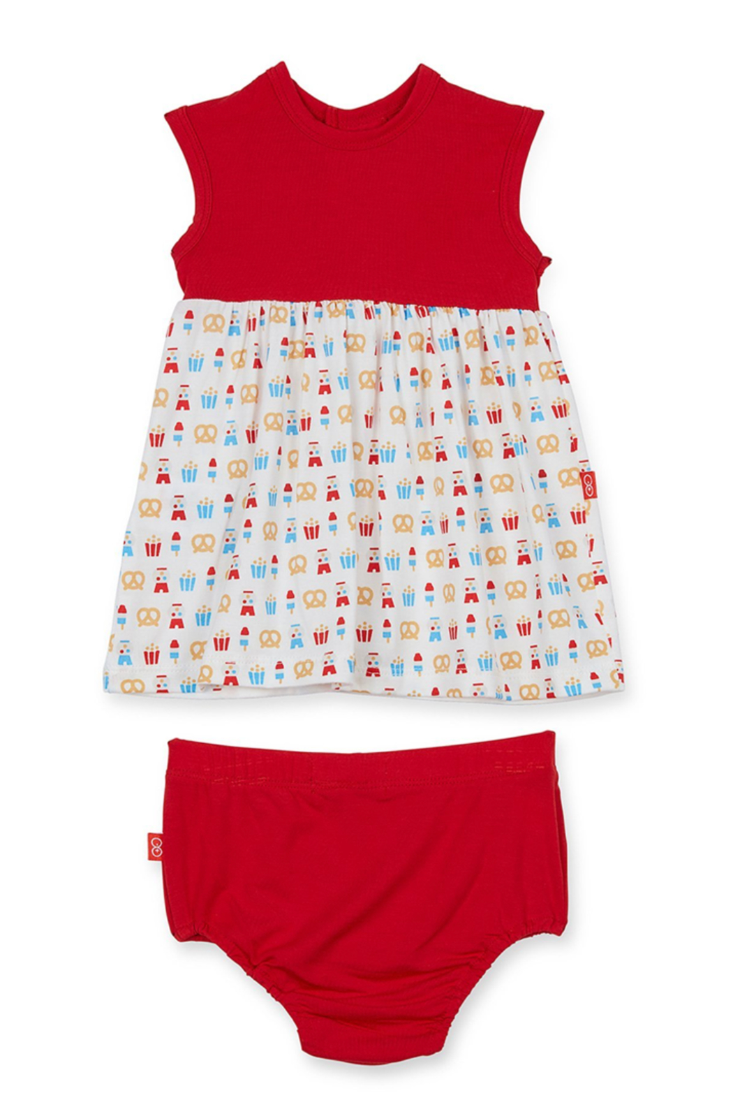 Magnetic Me Summer Fare Modal Magnetic Dress and Diaper Cover - Main Image