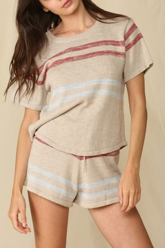 Blank Paige Summer Knit Top - Product List Image