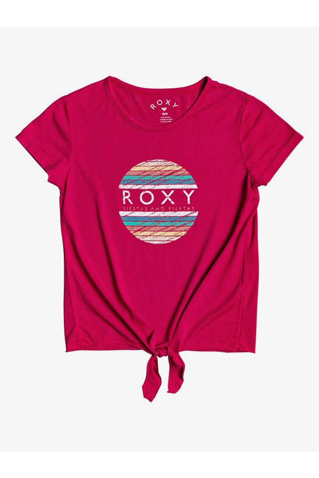 Roxy Summer Long B Tie-Front Tee - Main Image