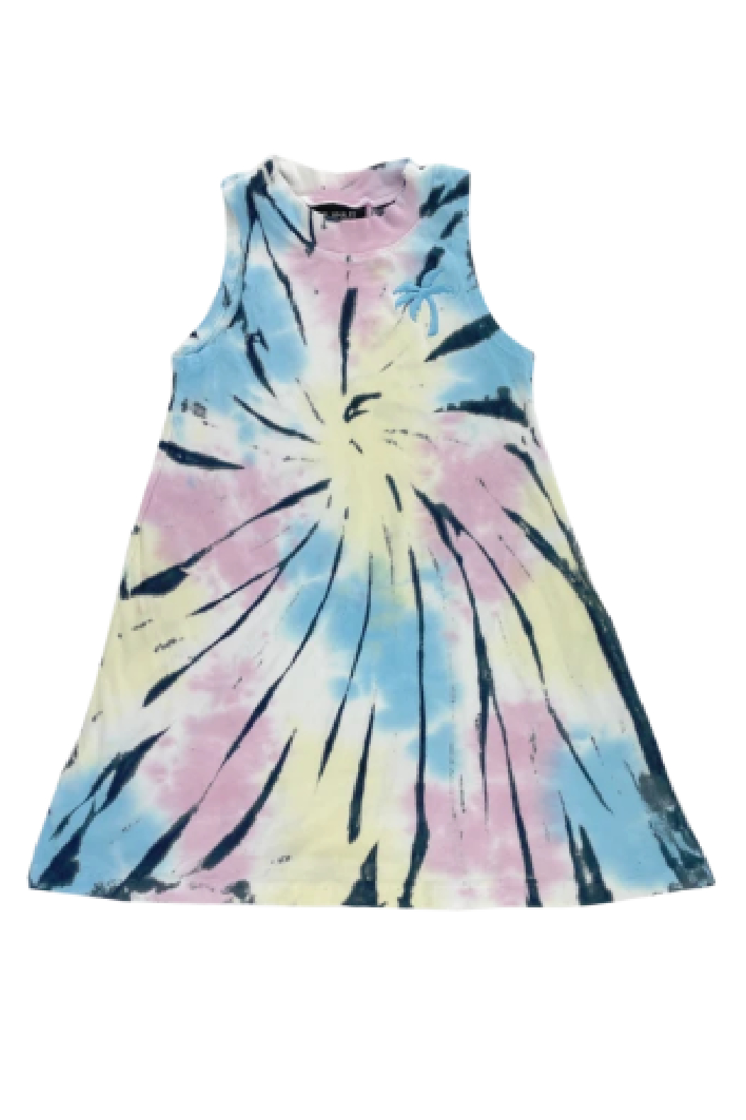Tiny Whales  Summer Nights Dress - Front Full Image