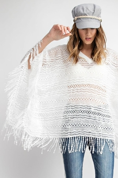 easel Summer Poncho - Product List Image