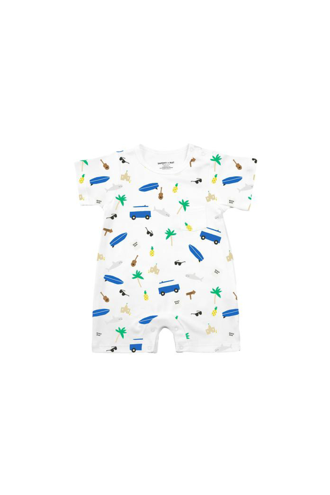 SAMMY & NAT Summer Print Romper - Main Image