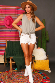 Fantastic Fawn Summer's End Top - Side cropped
