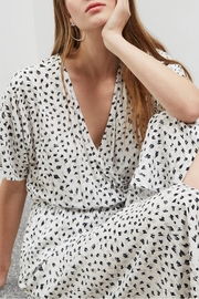 Great Plains Summer Scribble Dress - Back cropped