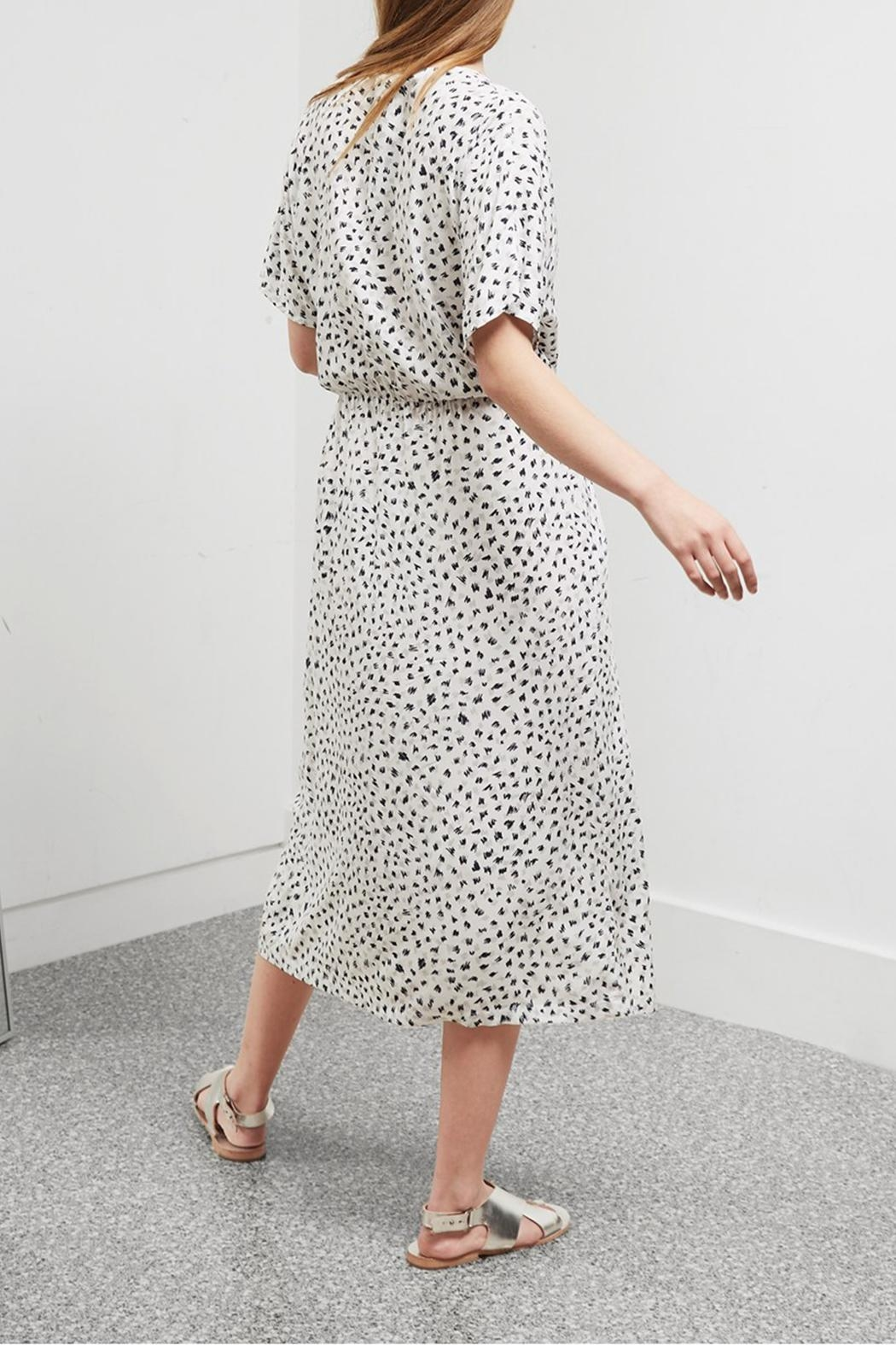 Great Plains Summer Scribble Dress - Front Full Image
