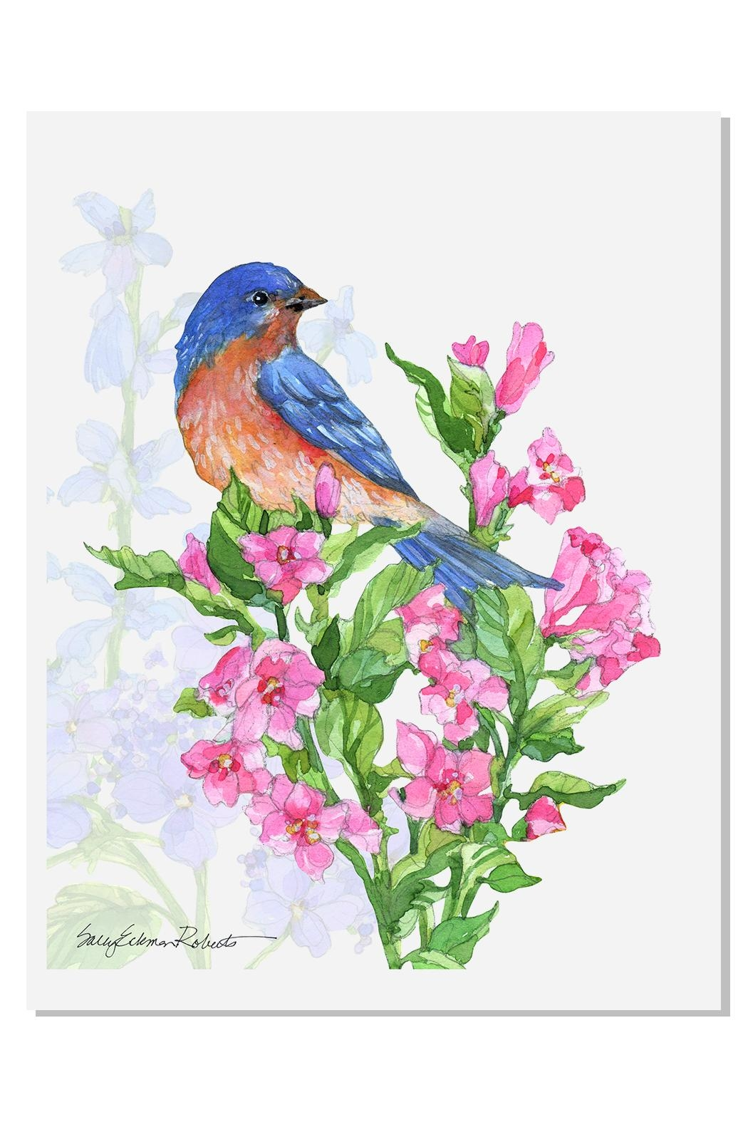 Sally Eckman Roberts Summer Songs Bluebird - Main Image