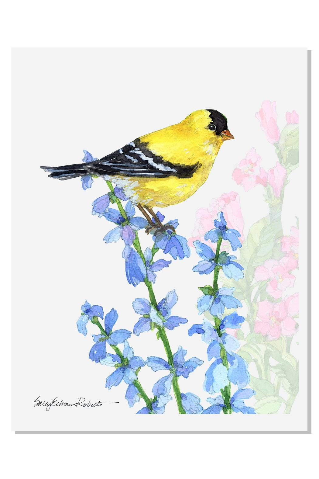 Sally Eckman Roberts Summer Songs Goldfinch - Main Image