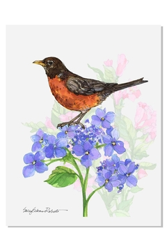 Sally Eckman Roberts Summer Songs Robin - Product List Image