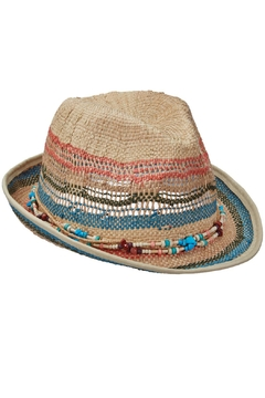Dorfman Pacific Summer Straw Hat - Alternate List Image