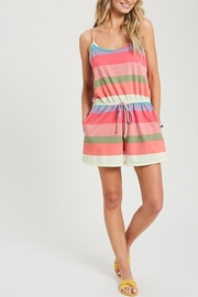 ee:some Summer Stripes Romper - Product Mini Image