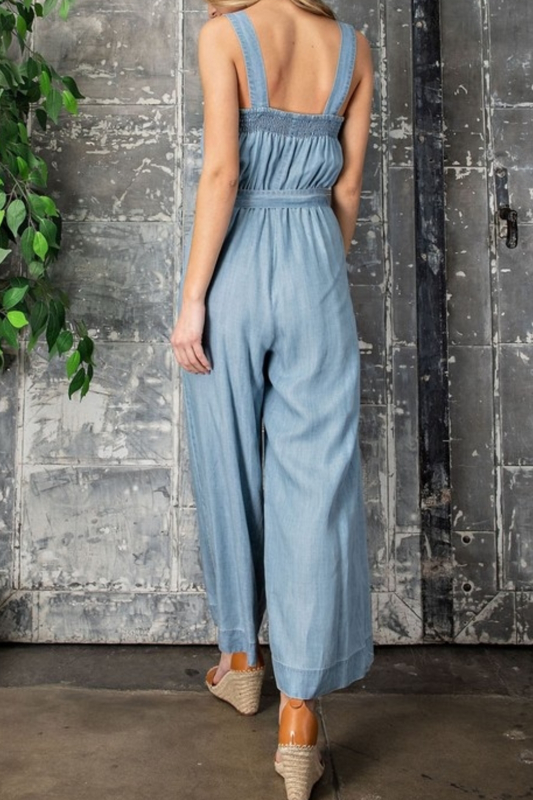 eesome Summer Style jumpsuit - Front Full Image