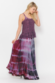 Apparel Love Summer Sunsets Chiffon Maxi Skirt - Front cropped