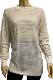 The Birch Tree Summer Sweater - Front cropped