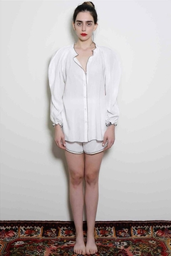 Levinia Konyalian Summer White Shirt - Alternate List Image